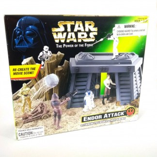 Endor attack Playset 1997 kenner