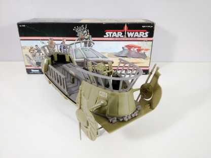 1984 Tatooine skiff by kenner for sale - toy is like new