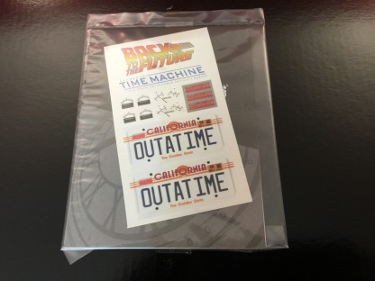 Delorean Hottoys – back to the future - mms260