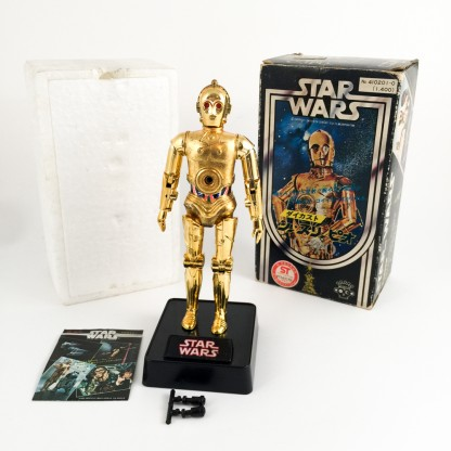 C3po rocket-firing-TAKARA Star wars-japan 1978