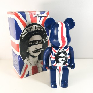Bearbrick 400% Sex pistols -god save the queen