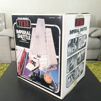 imperial shuttle kenner 1984 – MIB content sealed