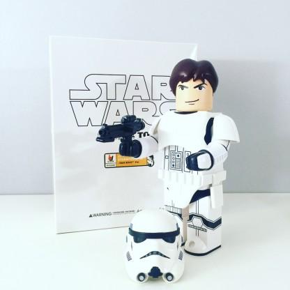 Kubrick 400% Star wars _Han Solo Stormtrooper_medicom toys _001