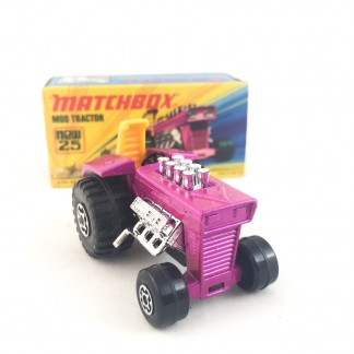 Mod Tractor - New 25 - Superfast- Matchbox Lesney