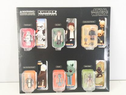 Kubrick Star Wars Set _Serie 2 Collectors edition_2008_Medicom toys