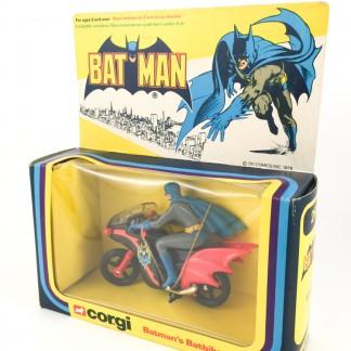 BATBIKE Corgi MIB - Corgi toys 268 - batman