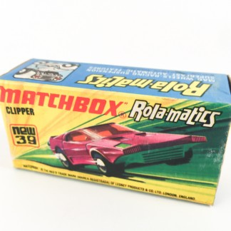 Clipper Matchbox new 39 -box only- Type L