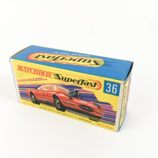 DRAGUAR Matchbox superfast 36 -box only Type G- ref01