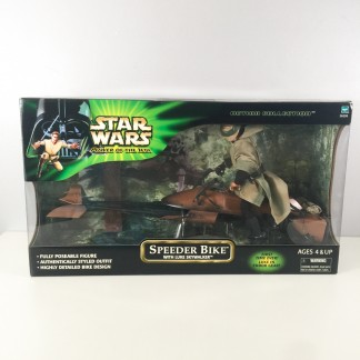 Speeder bike With luke MISB - Hasbro 2001