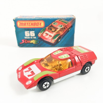 mazda rx500-New 66-streakers-MATCHBOX Lesney