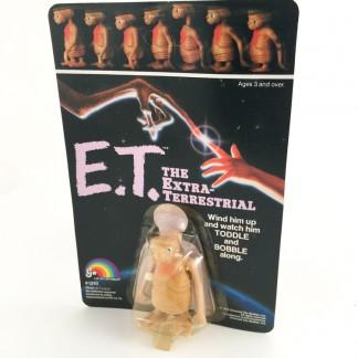 E.T. l'extraterrestre a remontoir wind-up MOC – ljn toys – 1982
