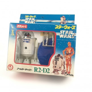 R2-D2 Die-cast rocket firing figure-TAKARA-1977 Japan