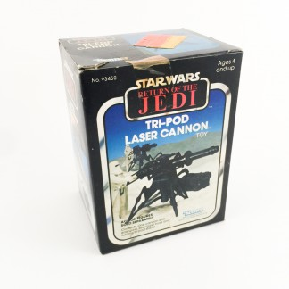 Tri-pod laser cannon SEALED-ROTJ-kenner 1983