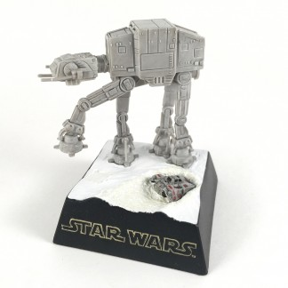 AT-AT Walker Mini Diorama- Star Wars -TOMY 2002