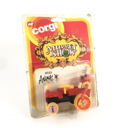 Animal Car-Corgi 2033 Muppets Show-1979