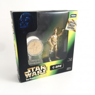 C3po - Millennium minted coin - 1997 Kenner