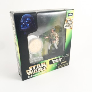 Leia endor gear - Millennium minted coin - 1997 Kenner