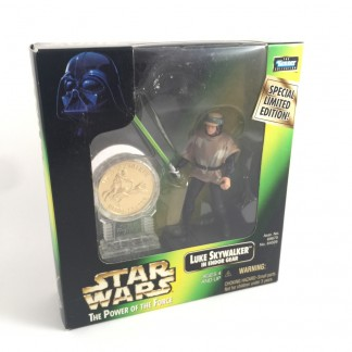 Luke endor gear - Millennium minted coin - 1997 Kenner