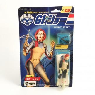 Scarlett G-05-Gi Joe-1986 TAKARA