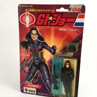 Baroness E-03-Gi Joe-1986 TAKARA Japan