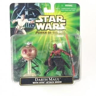 Darth Maul and sith attack droid