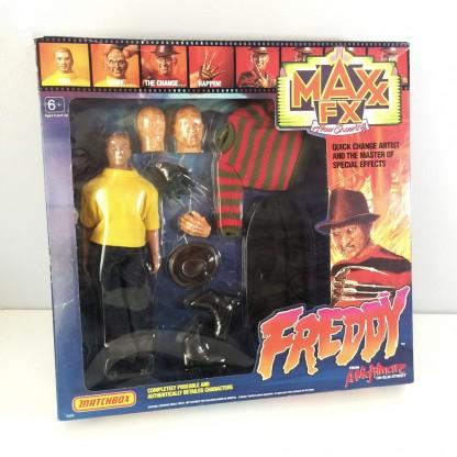 Freddy Krueger Sealed-Maxx FX-1989 Matchbox