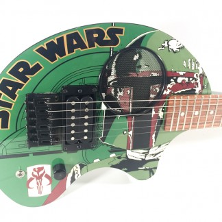 Guitare Fernandes Boba Fett-STAR WARS limited edition-2001 japan