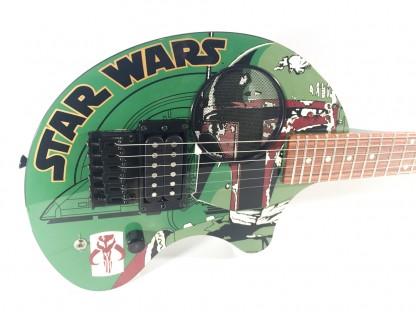 Guitare Fernandes Boba Fett-STAR WARS limited edition-2001 japan