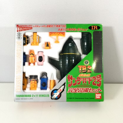 Thunderbirds TB-2 + 11 Pod vehicles-Bandai 1993