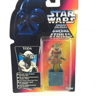 Yoda POTF Tri logo Red Card