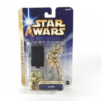 C-3po death star rescue-star wars-Saga collection gold stripe