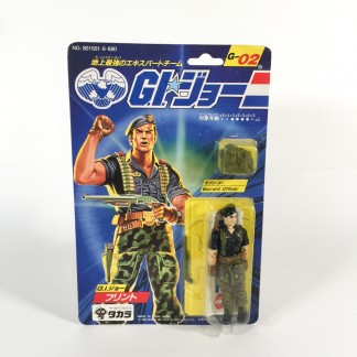 Flint E-02-Gi Joe-1986 TAKARA