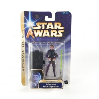 Holographic Luke skywalker -star wars-Saga Collection gold stripe