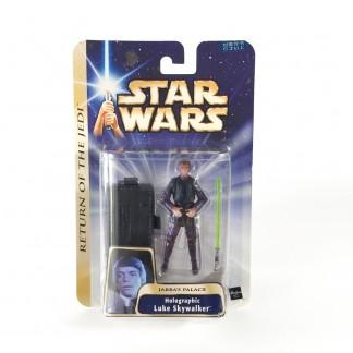 Holographic Luke skywalker -star wars-Saga Collection gold stripe