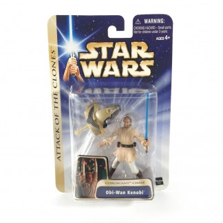 obi-wan kenobi coruscant chase-star wars-Saga collection gold stripe