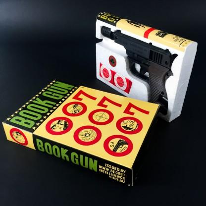 007 BOOK GUN p38-James Bond 60's toy gun-Japan