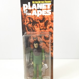 Planet of the apes action figures produced by medicom toy in 2000. in association with NIGO / a bathing ape