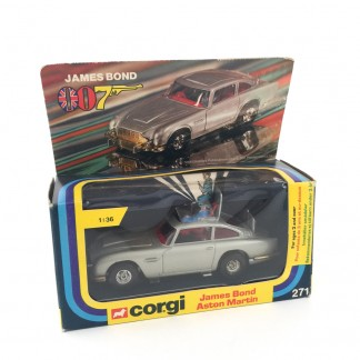 James Bond Aston martin-corgi 271-1977