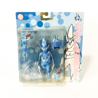 Pointman Blue Camo Action Figure-Psyence Fiction -Futura 2000 Unkle Mowax