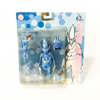 Pointman Blue Camo Action Figure-Psyence Fiction -Futura 2000 Unkle Mowax