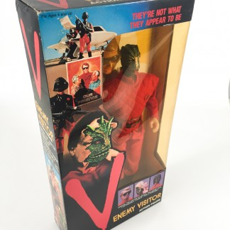 V Enemy visitor action figure-LJN toys-1984