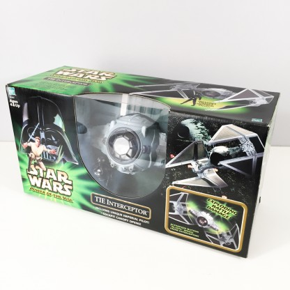 Tie interceptor – Power of the Jedi – 2001 Hasbro