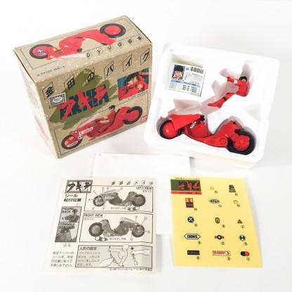 AKIRA KANEDA BIKE 1988 Bandai Japan 1/35