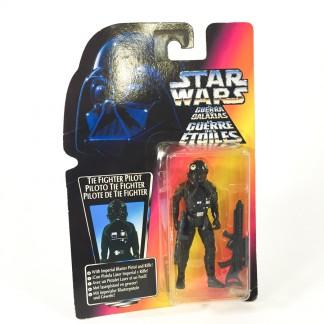 Tie Fighter Pilot Red Card - Star Wars POTF Kenner