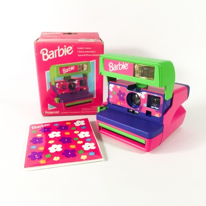 polaroid 600 Barbie