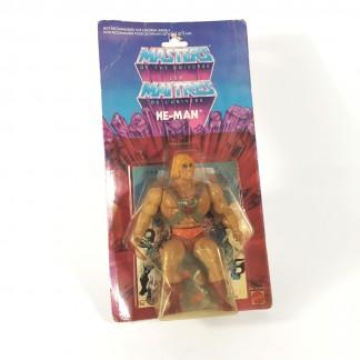 He-man 8 Back Canadian Bi-logo 1982 -MOTU Mattel TAKARA