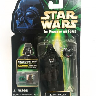 Darth Vader with interrogation Droid - Star wars POTF Commtech chip