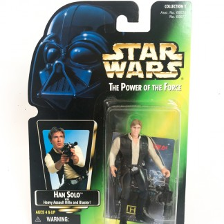 Han Solo Green Card - Star Wars POTF
