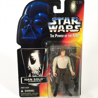 Han solo in carbonite block red card - Star wars POTF 1997