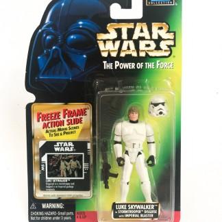 Luke Sywalker Stromtrooper Freeze Frame - Star Wars POTF